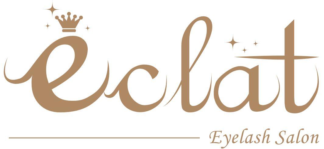 マツエク専門サロンeclat(エクラ)ロゴ